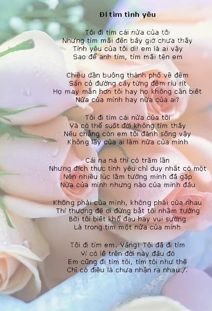 Những bài thơ tình yêu hay qua ảnh - Hình 19