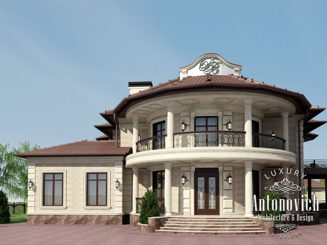 Luxury antonovich design uae exterior design for Luxury house exterior designs