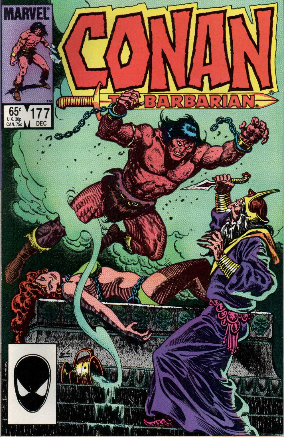 Conan the Barbarian (1970) Issue #177 #189 - English 1