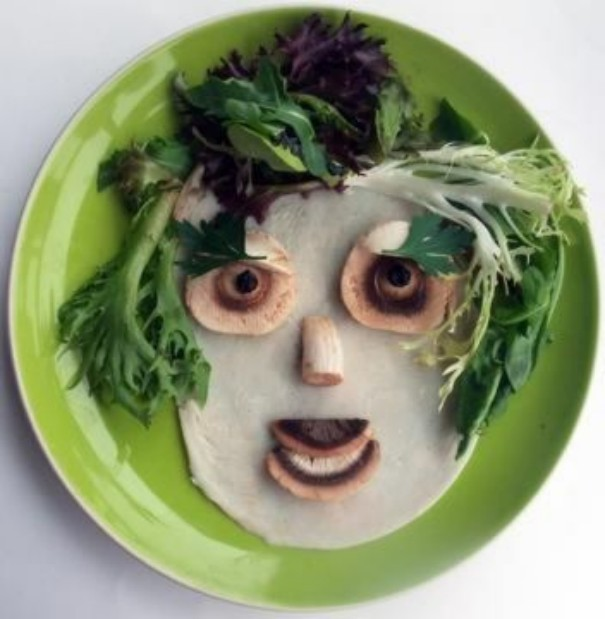 Funny Art with Breakfast