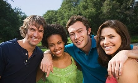 Want To Meet New People? Try Changing Your Attitude  - friends friendship good company pals
