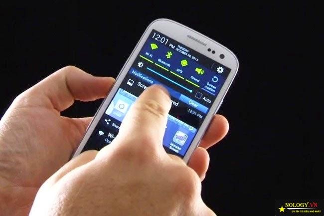 Cách chụp màn hình trên Samsung galaxy s4 cũ