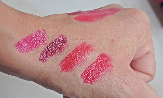 bourjois rouge edition lip swatches
