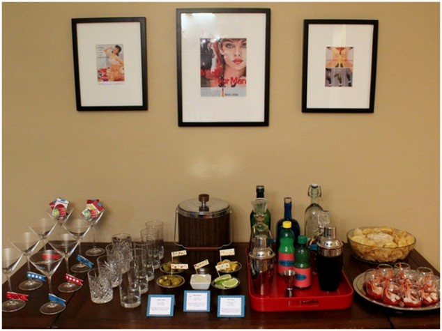 The perfect bridesmaid theme mad men themed bridal shower for 30th birthday party decoration ideas for men