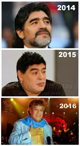 Maradona segun pasa tiempo