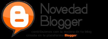 Novedad Blogger