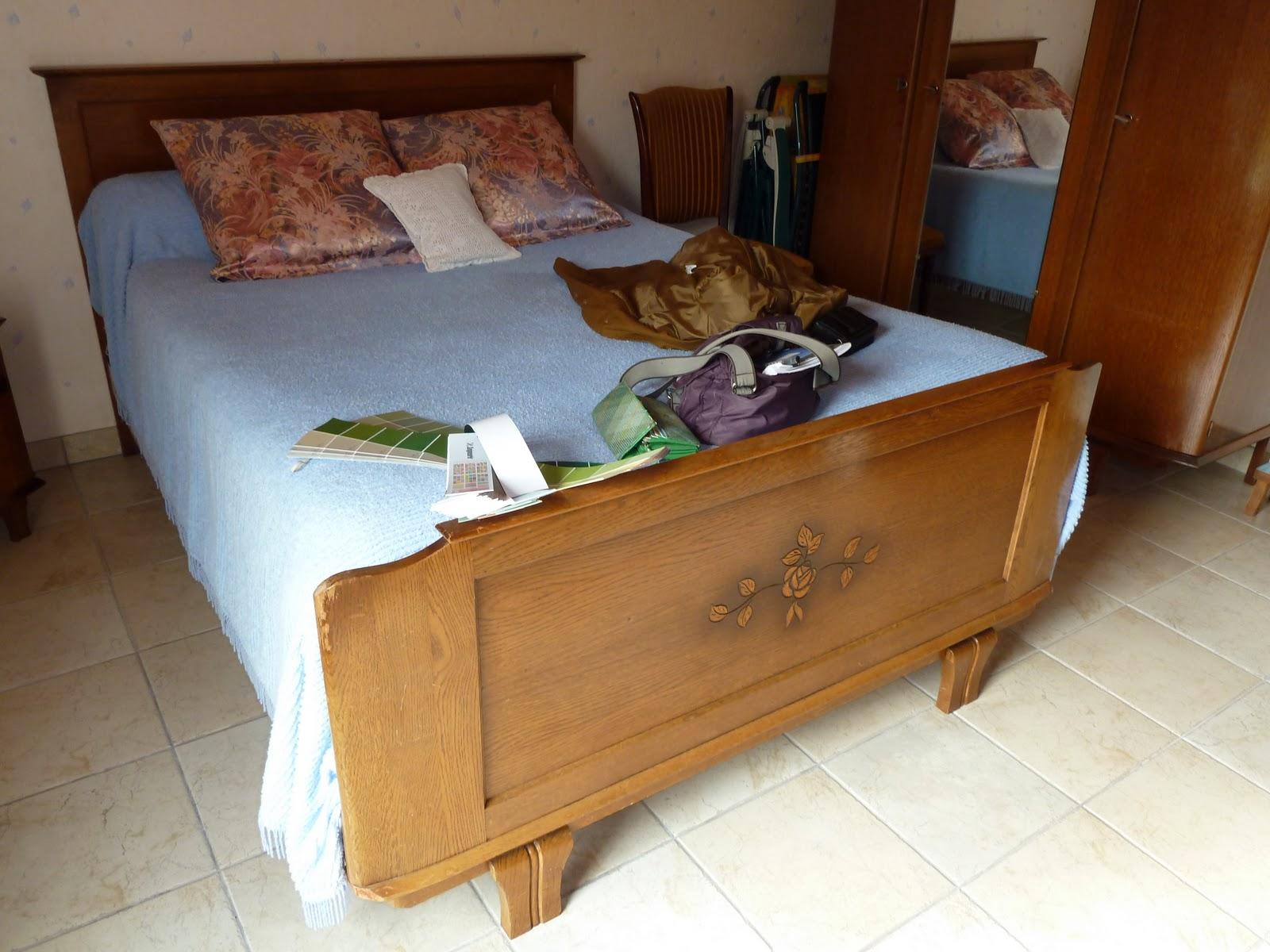l 39 atelier d 39 emmanuelle chambre coucher ann es 30. Black Bedroom Furniture Sets. Home Design Ideas