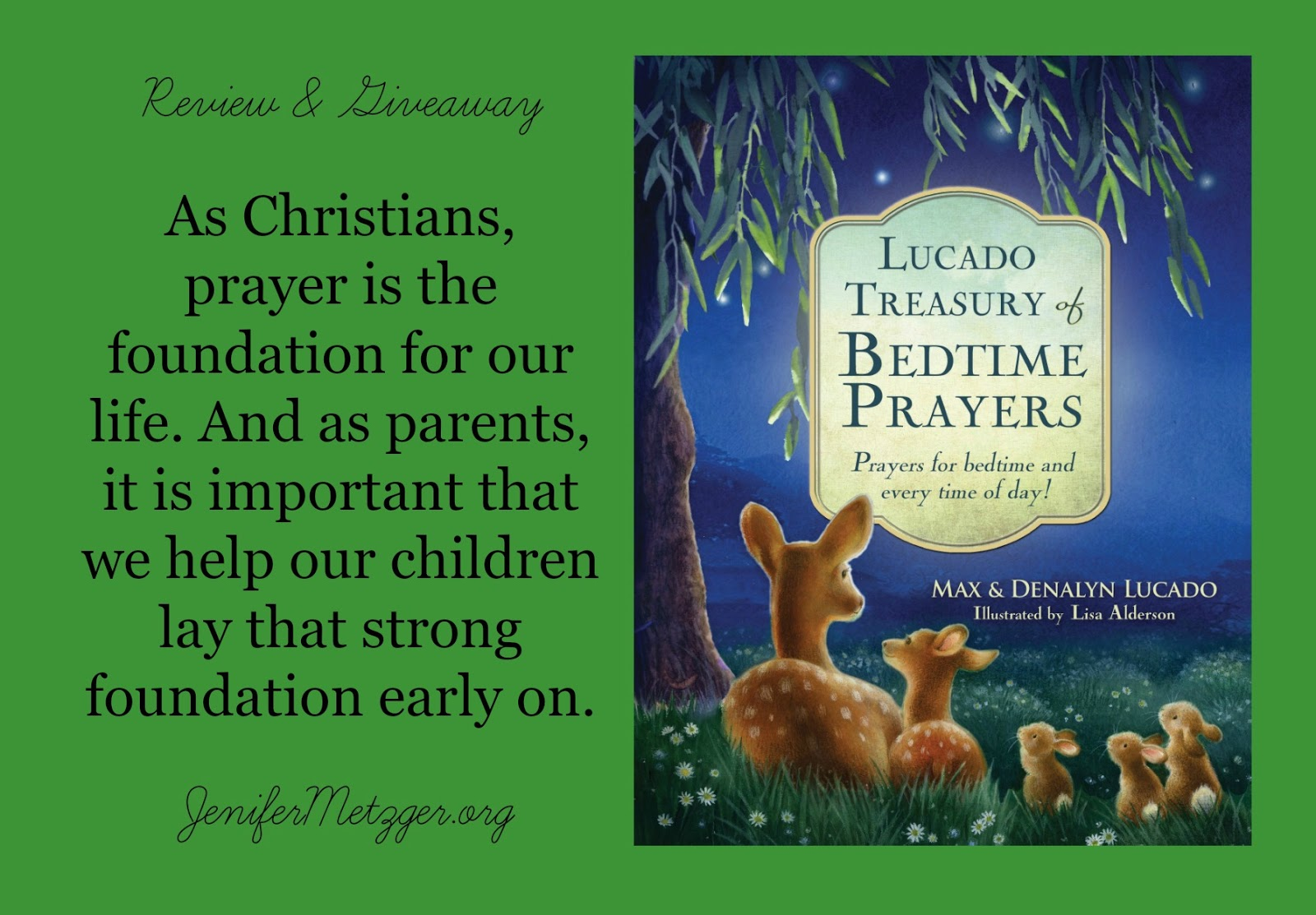 #Prayer is the foundation for life. #tommymommy #giveaway #childrensbook #parenting