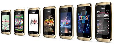 Nokia Asha 308 Dual SIM - Nokia Asha Touch Family