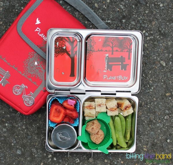 The New PlanetBox Shuttle is the perfect size for snacks or smaller appetites!