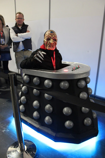 Doctor Who Festival 2015 - Davros costume