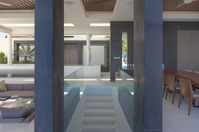 Picture of modern minimalist interior