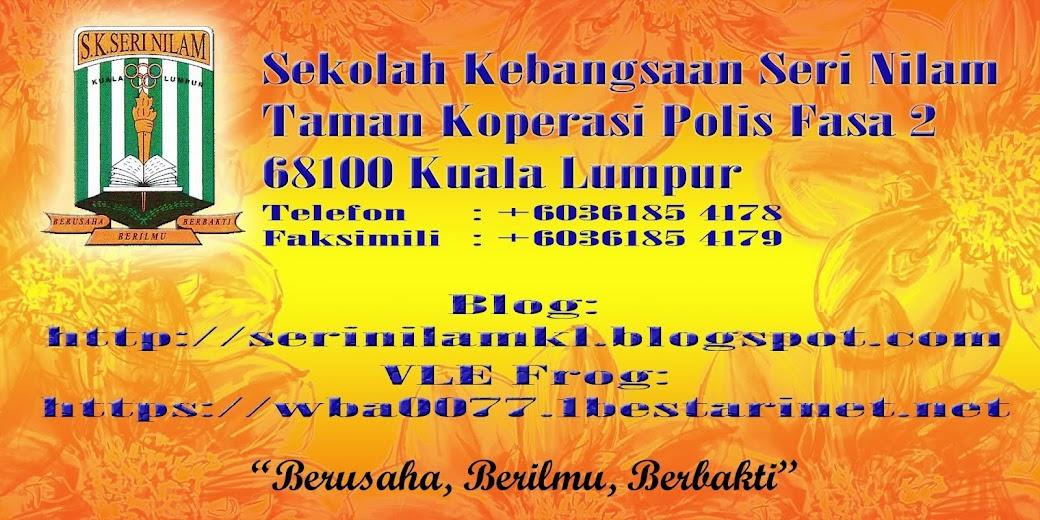 Blog SK Seri Nilam Kuala Lumpur