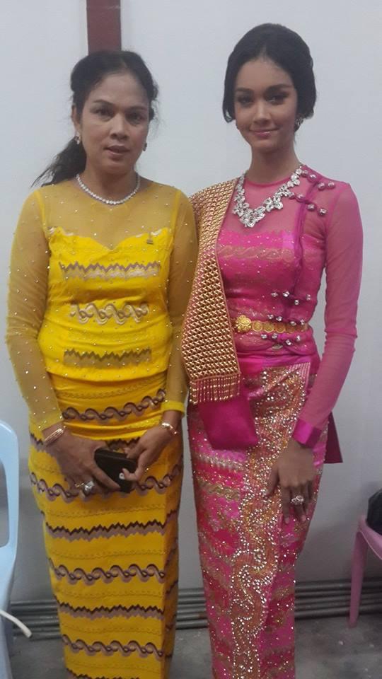 May Myat Noe as Shwe Kyo in Myanmar Academy Award 2013