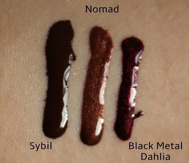 Lip Tars L-R Sybil, Nomal, Black Metal Dahlia