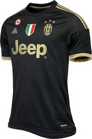 segunda equipacion Juventus futbol