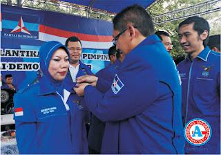 Sakura Sah Pimpin Demokrat Kabupaten Bima