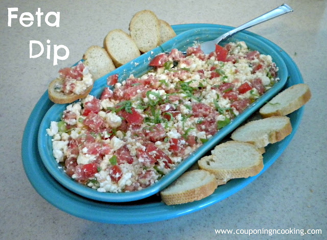 Light and Easy Feta Dip from Couponing and Cooking