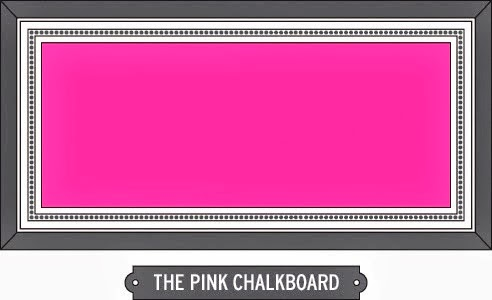 The Pink Chalkboard