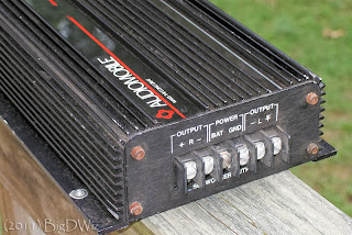 image of an old Audiomobile amplifier