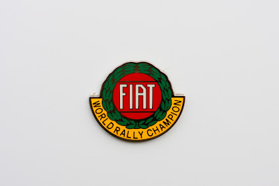 Fiat World Champion badge