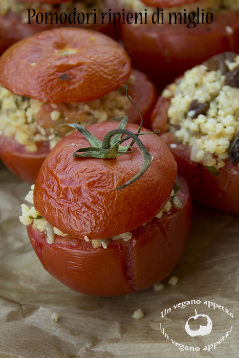 pomodori ripieni di miglio {veg}