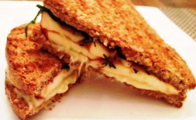 Apple and Gruyere Panini With Thyme Recipe