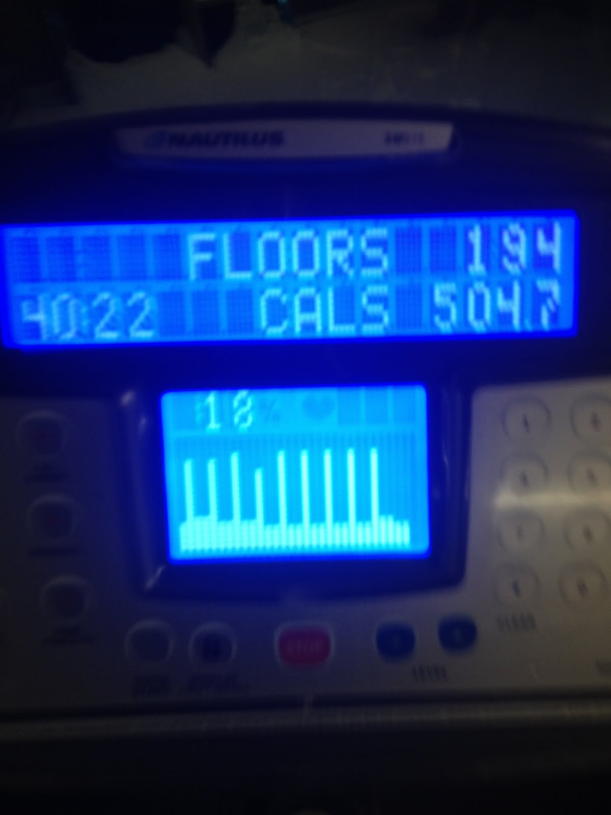 step machine calories burned