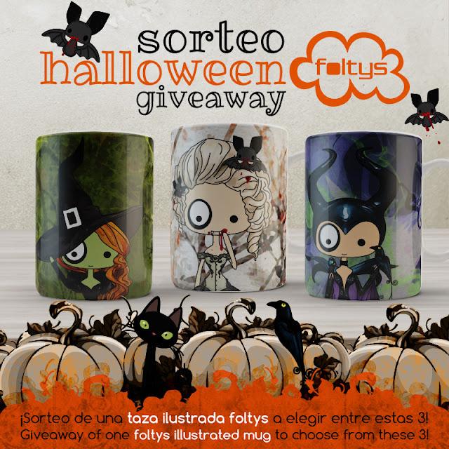 sorteo | giveaway foltys love halloween