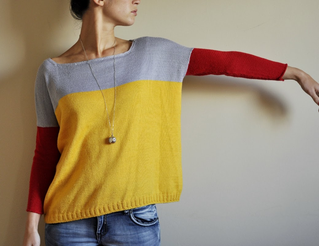 knitting machine sweater
