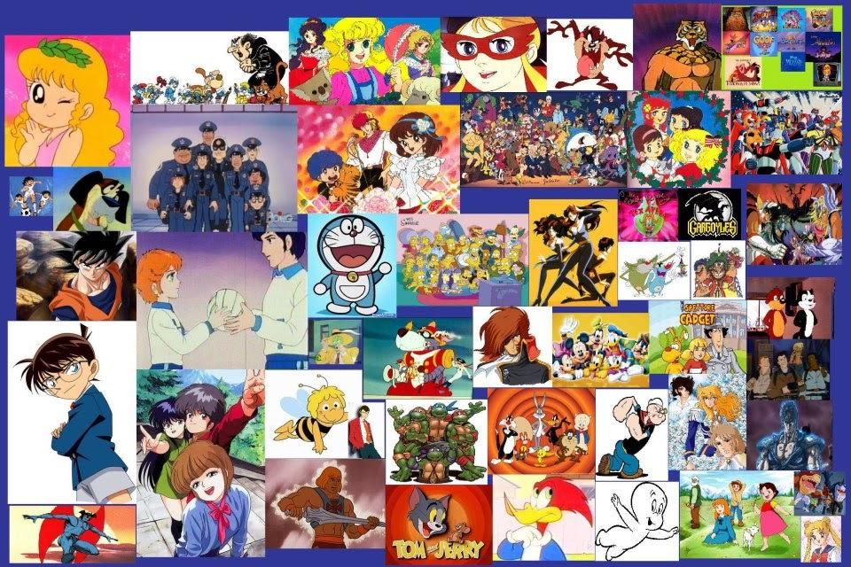 Cartoni animati anni trasmessi in italia