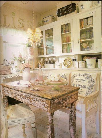 Vintage cottage kitchen inspirations french country for French country cottage design
