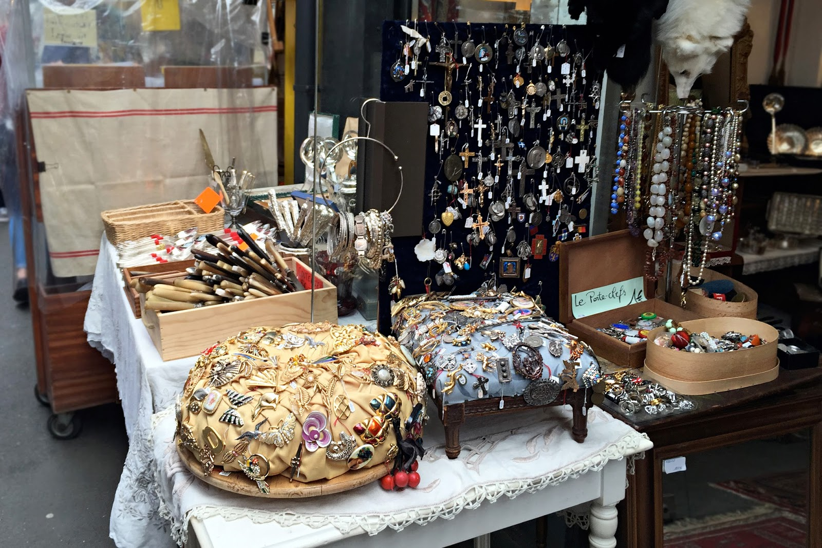 Paris Flea Market - The Largest Flea Market in the World | Rita The ...