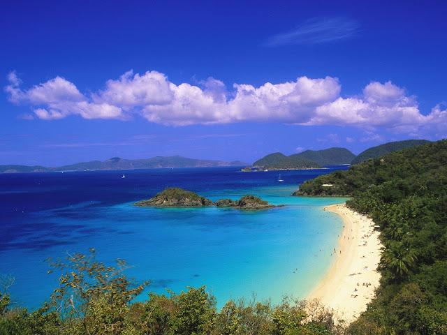 Trunk Bay, Islas Vírgenes de EE.UU.