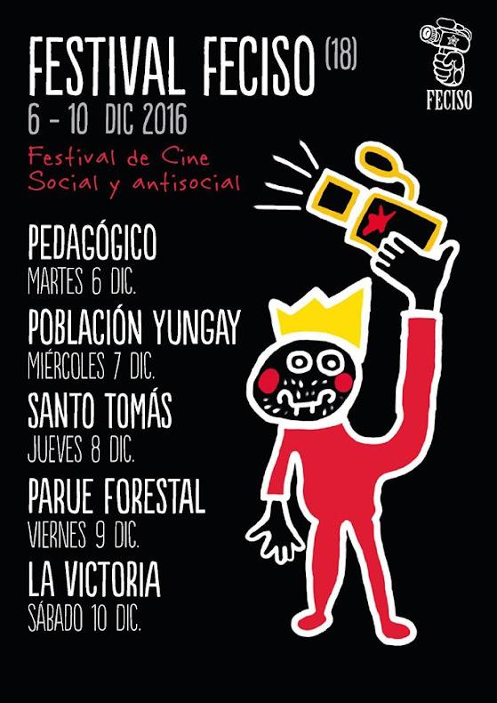 SANTIAGO: FESTIVAL FECISO (18), FESTIVAL DE CINE SOCIAL Y ANTISOCIAL