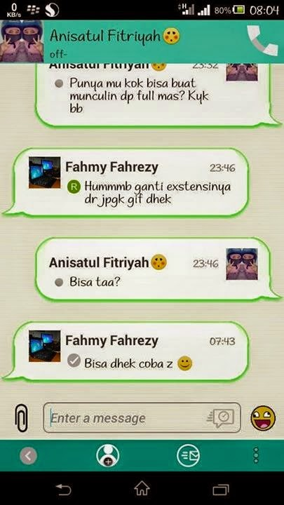 BBM Mod Green Simple 2.6.0.30