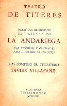 TEATRO DE TITERES - LA ANDARIEGA . JAVIER VILLAFAÑE.I.Parte