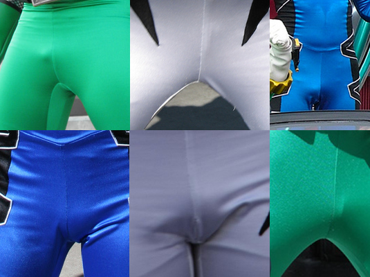 Power Rangers Bulge