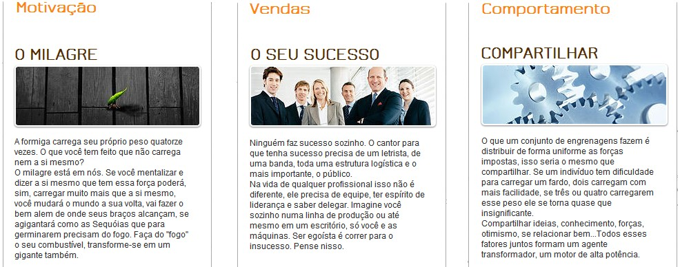 Superação e Sucesso