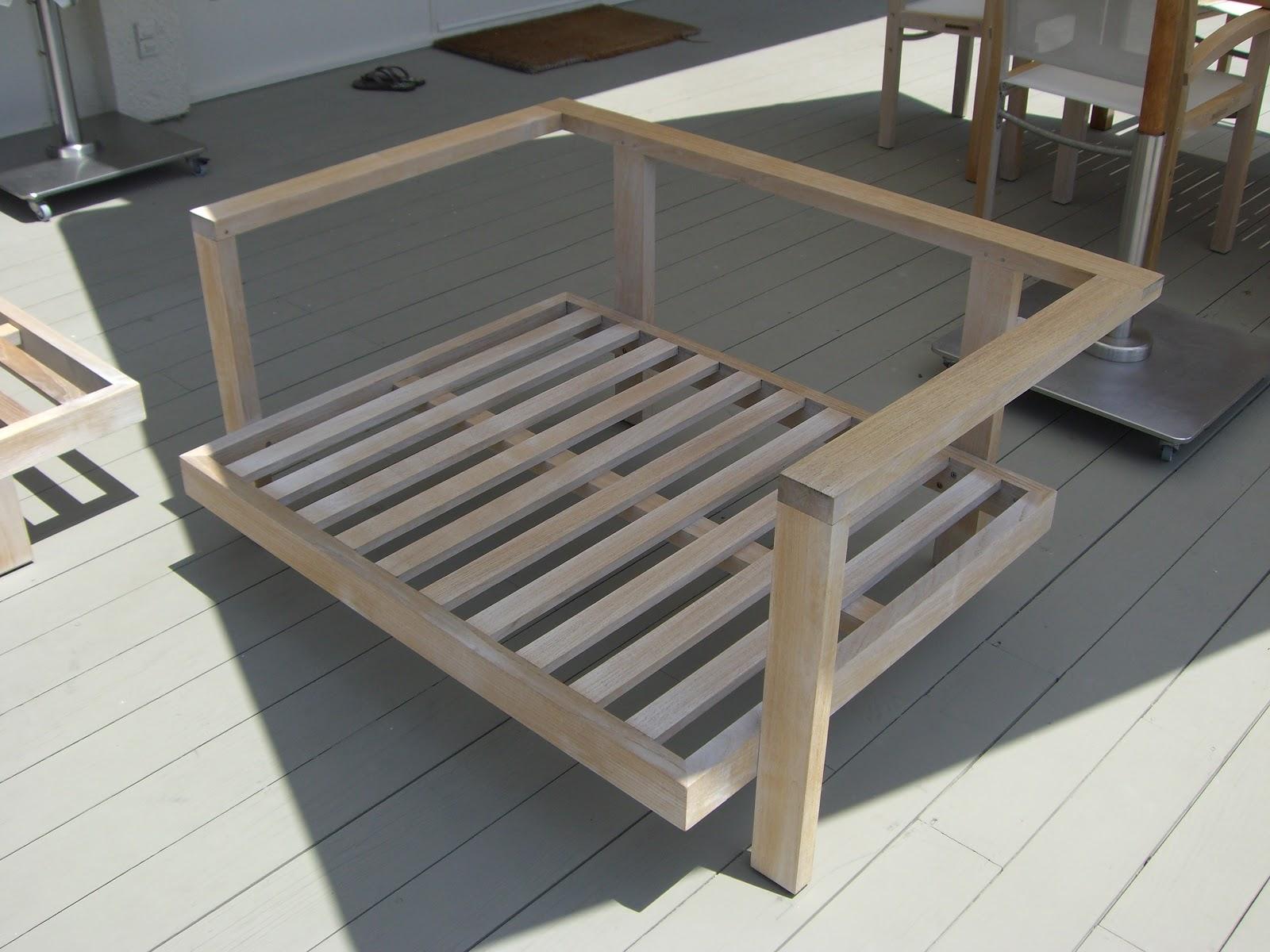Refinishing Outdoor Wood Furniture