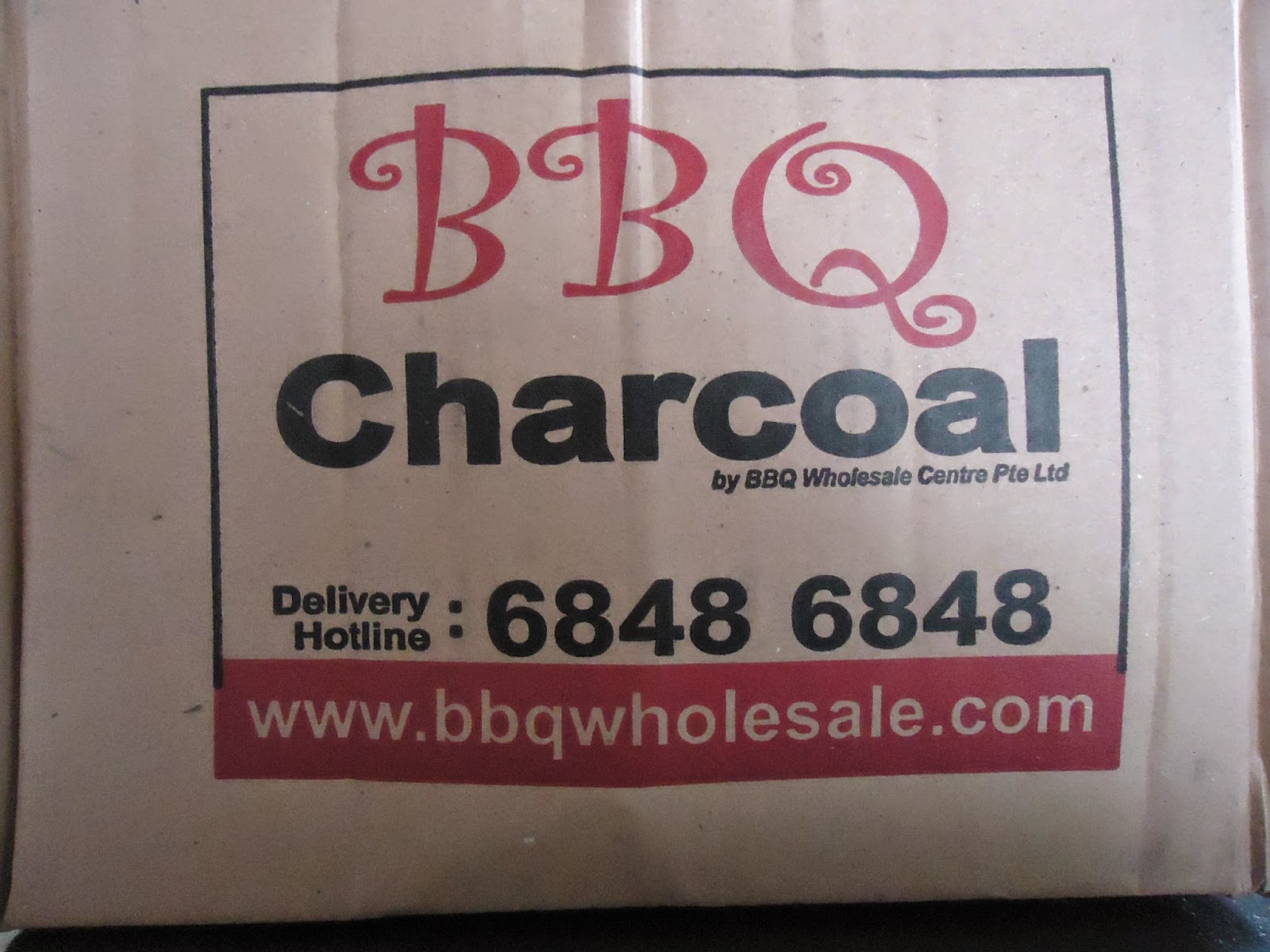 BBQ Wholesale Centre old charcoal packaging