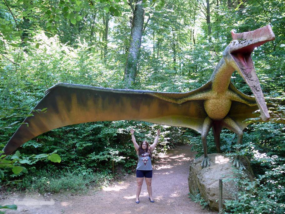 Flugsaurier Styrassikpark