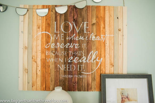 Quotes On Wood Wall Art : Wood wall art quotes quotesgram