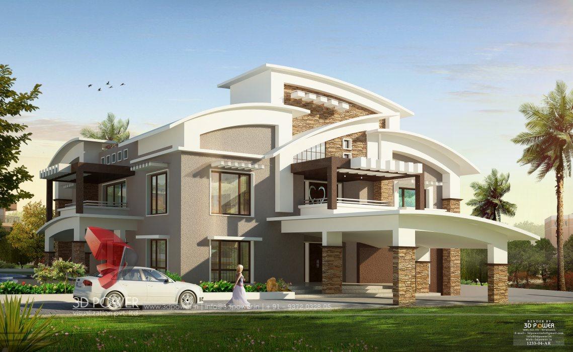 Ultra modern home designs home designs modern home design 3d power - Home design visualizer ...