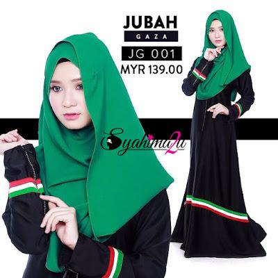 Jubah-Gaza-JG001