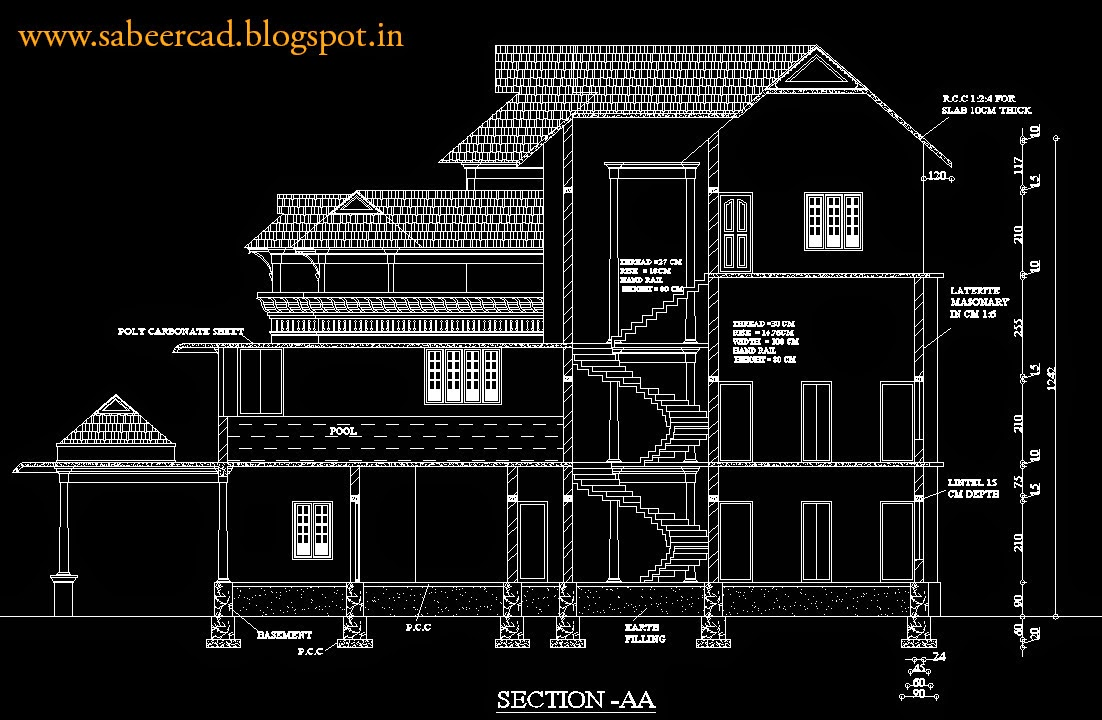 Elevation Plan In Autocad : Autocad project case studies tutorials tips cad