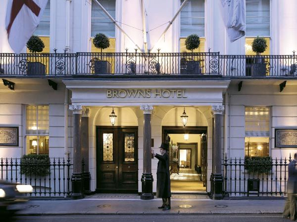 Brown 39 s hotel london 4th night free for Hotel dauly bron
