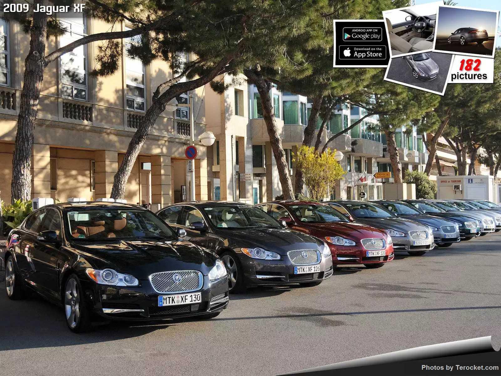 Hình ảnh xe ô tô Jaguar XF 2009 & nội ngoại thất