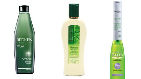 melhores shampoos para cabelos finos