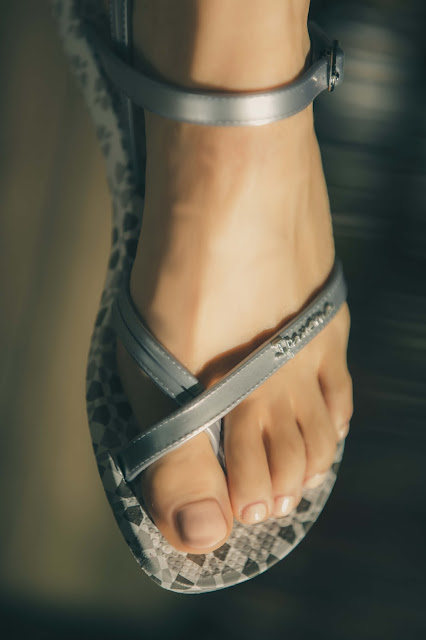 Ipanema Fashion Sandale silber Tragebild